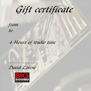 Bigsoundproductionsatl gift certificate.
